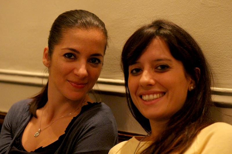 Olasz-magyar barátság és az elégedett lányok :-)