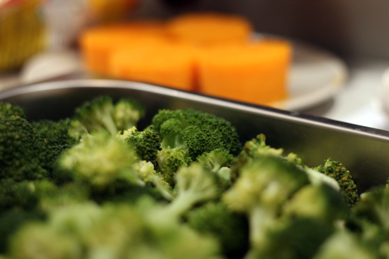 A fantasztikus gőzáprolóban elkészült a brokkoli