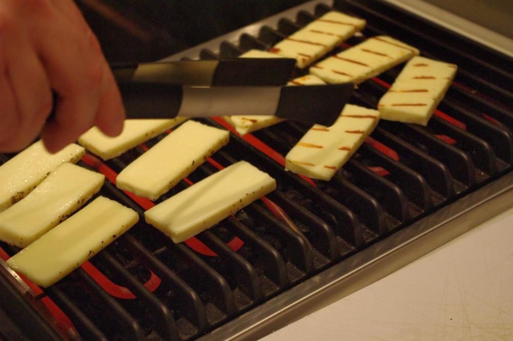 Haloumi sajt mentával